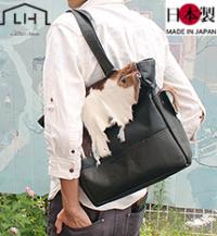 子牛毛皮ハラコ手縫いトートバッグ(牛革)多機能