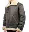 ラム革フライトジャケットB−3(ムートン)羊