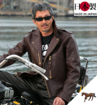 革ジャンダブルライダース(馬革)Leather Togsタイプ