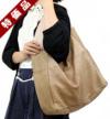 【特価品】バイカラーストラップナチュラルBIGワンショルダー(牛革)