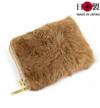 カンガルー毛皮コインケース(カンガルー×牛革)