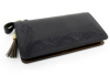 美しいフリーカットが特徴的なロングウォレット(牛革)革財布